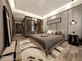 卧室中式装修实景图片欣赏