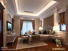 质朴442平新古典别墅卧室装饰美图
