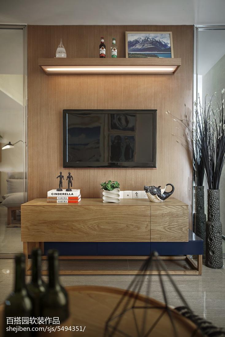 欧式风电视背景墙设计客厅欧式豪华客厅设计图片赏析