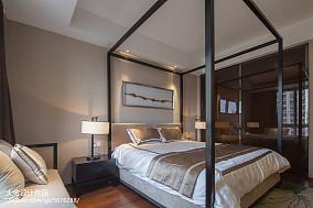 2018精选中式四居卧室设计效果图