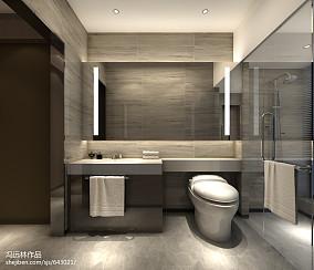 正方形浴室装修