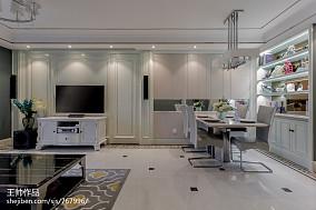 精选面积105平欧式三居客厅装修实景图片三居欧式豪华家装装修案例效果图