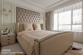 欧式风格三居室卧室装修图片