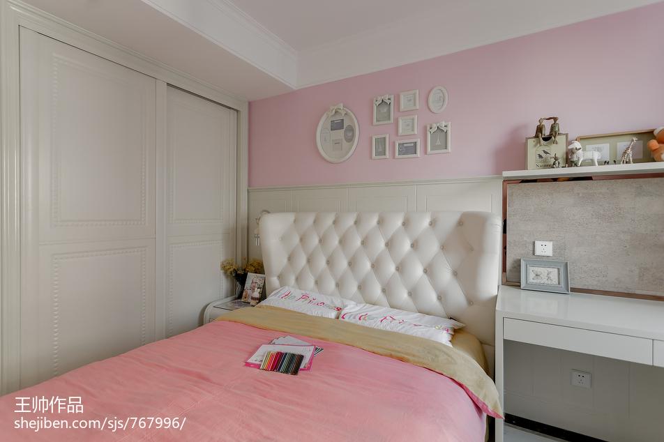 欧式儿童房衣柜装修图片卧室2图欧式豪华卧室设计图片赏析