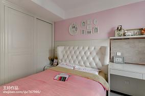 欧式儿童房衣柜装修图片三居欧式豪华家装装修案例效果图