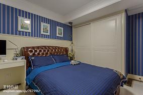 欧式儿童房衣柜装修效果图三居欧式豪华家装装修案例效果图