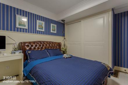 欧式儿童房衣柜装修效果图卧室