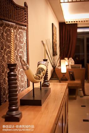 精选东南亚二居客厅装修设计效果图