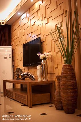 精选二居客厅东南亚装修图
