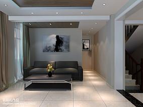 81平米简约公寓休闲区实景图片欣赏