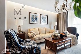 大气125平美式三居装修美图三居美式经典家装装修案例效果图