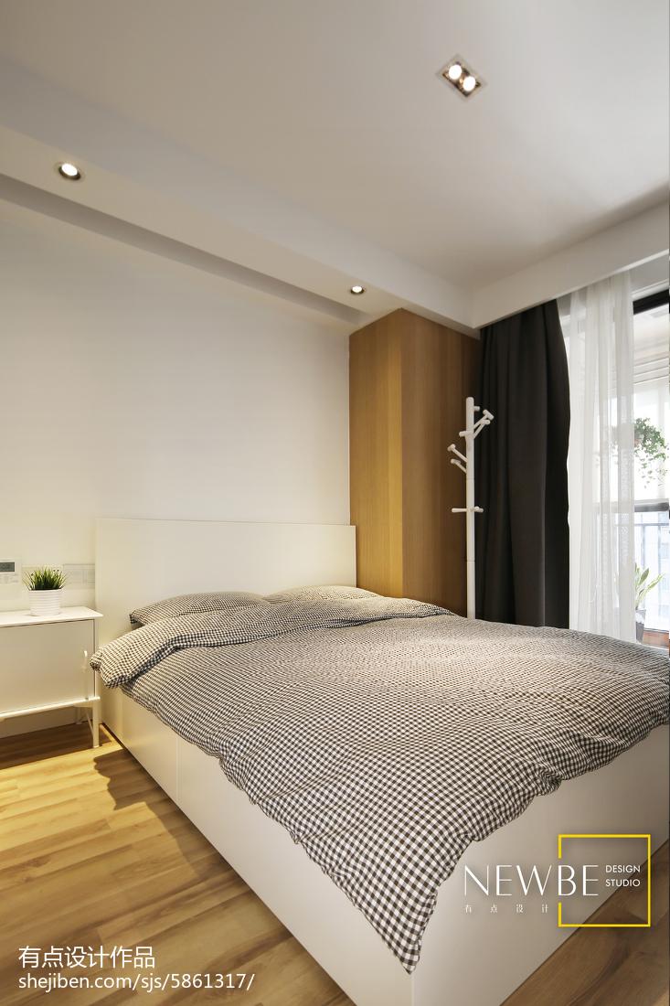 平方三居臥室現代裝修效果圖片臥室現代簡約臥室設計圖片賞析