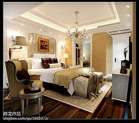 热门面积103平欧式三居装修欣赏图片大全