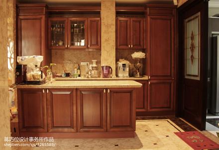 平米新古典别墅厨房装修图片餐厅