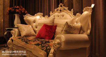 热门142平米新古典别墅客厅欣赏图客厅2图