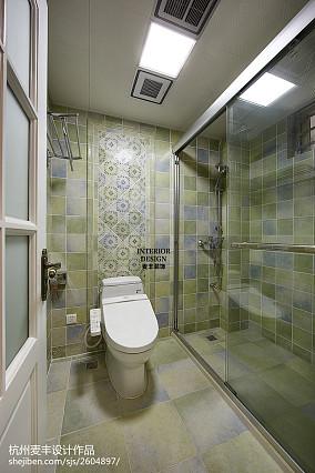简约美式卫生间装修图片欣赏卫生间美式经典设计图片赏析
