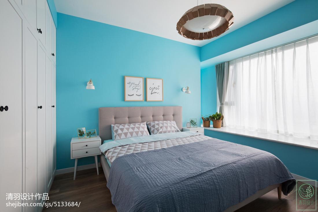 现代简约卧室飘窗装修图卧室现代简约卧室设计图片赏析