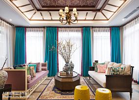 精美别墅客厅东南亚装修设计效果图片大全