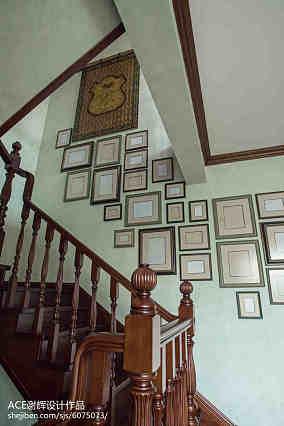精美120平米美式别墅装饰图片