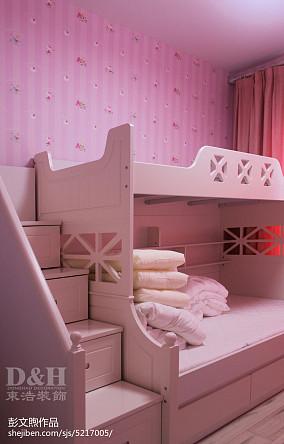 精选面积95平现代三居儿童房设计效果图