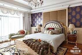 热门115平方混搭别墅卧室效果图片别墅豪宅潮流混搭家装装修案例效果图