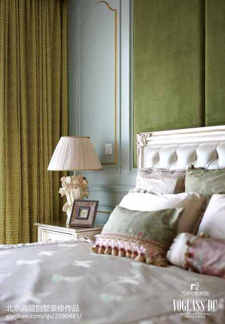 精美面积126平别墅卧室混搭欣赏图片大全卧室