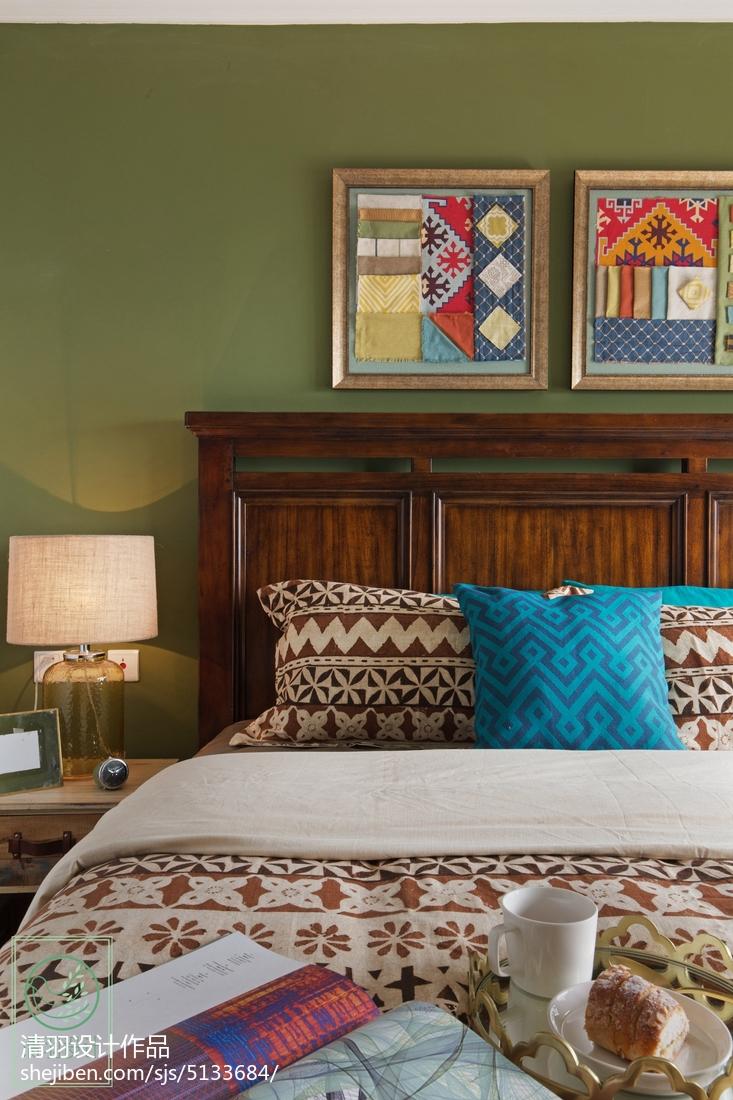 精选70平米二居卧室混搭效果图片大全卧室