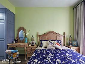 大气127平美式三居卧室案例图卧室美式经典设计图片赏析