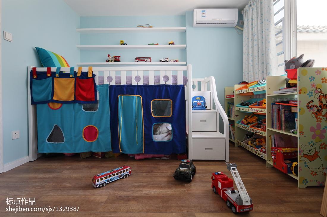 复式地中海儿童房设计