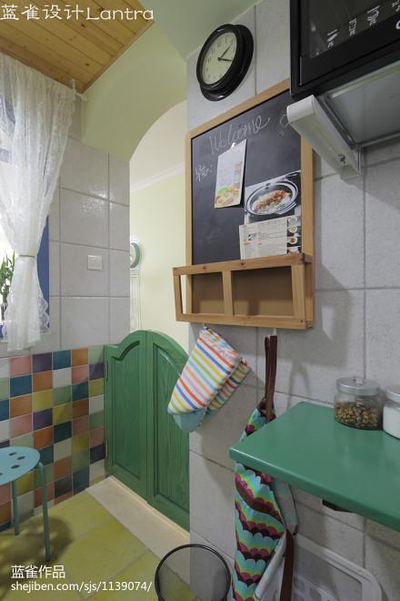 热门三居厨房新古典欣赏图餐厅