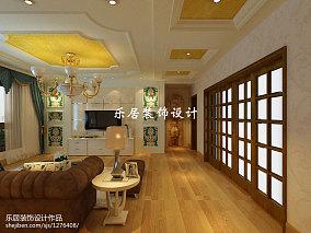 精选90平米三居客厅简欧装饰图片大全