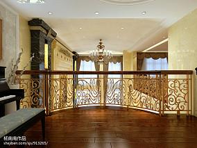 古典欧式豪华别墅室内泳池装修效果图