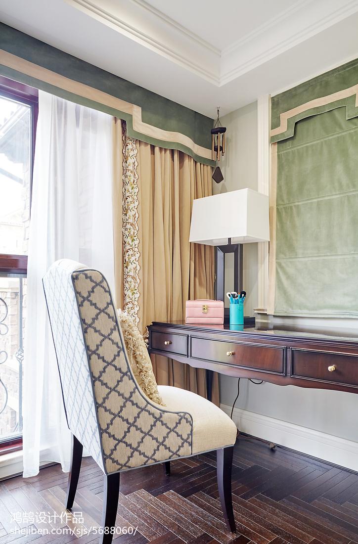 精选面积128平别墅卧室混搭装修图片欣赏卧室窗帘潮流混搭卧室设计图片赏析