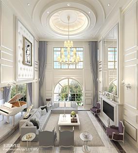 热门140平米欧式别墅客厅实景图片大全