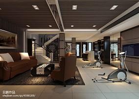 古典儒雅中式家庭茶室设计