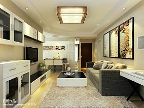 精选89平米二居客厅简约欣赏图