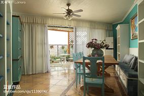 热门面积142平地中海四居餐厅欣赏图片大全厨房3图地中海设计图片赏析