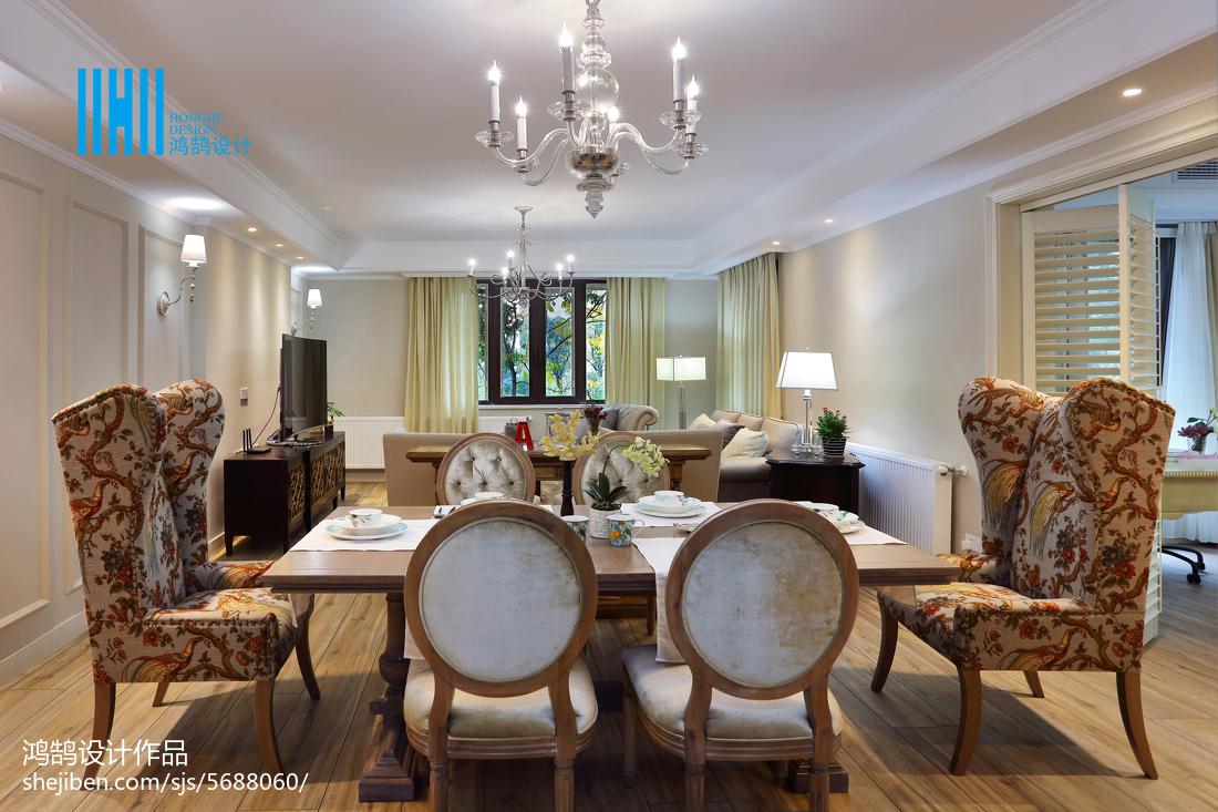 热门94平方三居餐厅混搭效果图片大全厨房窗帘潮流混搭餐厅设计图片赏析