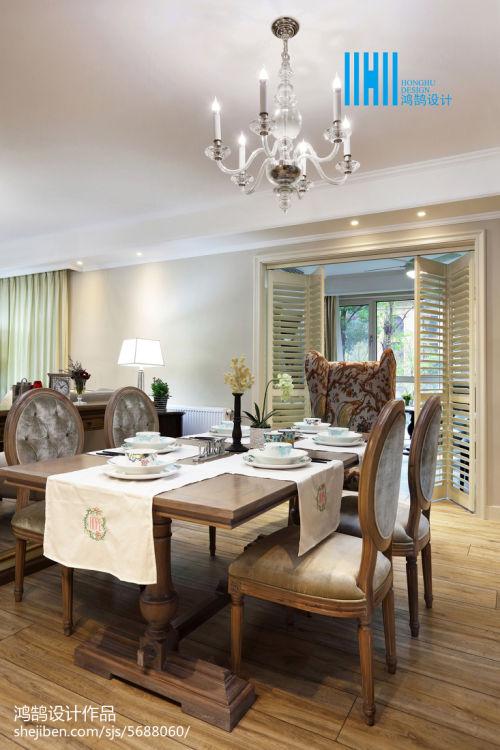 精美大小91平混搭三居餐厅欣赏图片大全厨房窗帘1图