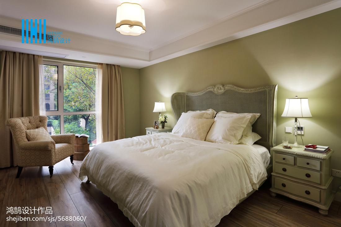 平米三居卧室混搭装修效果图片卧室窗帘潮流混搭卧室设计图片赏析