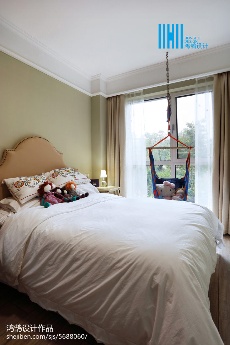 精选三居儿童房混搭装修设计效果图片大全卧室潮流混搭卧室设计图片赏析