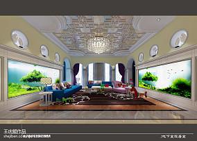 精选114平方混搭别墅客厅装饰图片大全