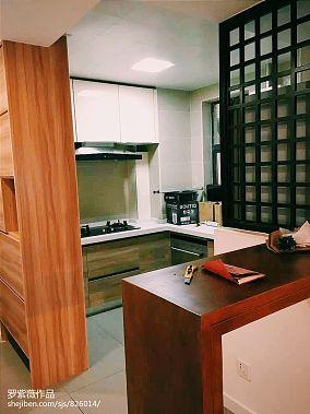 日式现代厨房橱柜图片