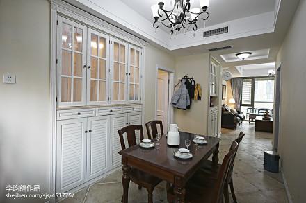 精选95平米三居餐厅美式装修效果图片欣赏厨房