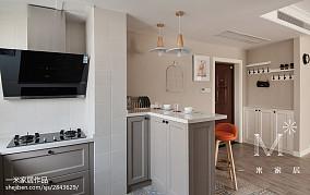 优雅77平北欧二居装修效果图二居北欧极简家装装修案例效果图