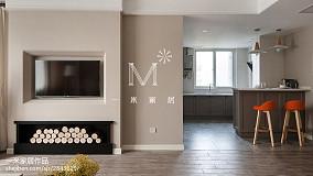 精选76平米二居客厅北欧装修实景图片二居北欧极简家装装修案例效果图