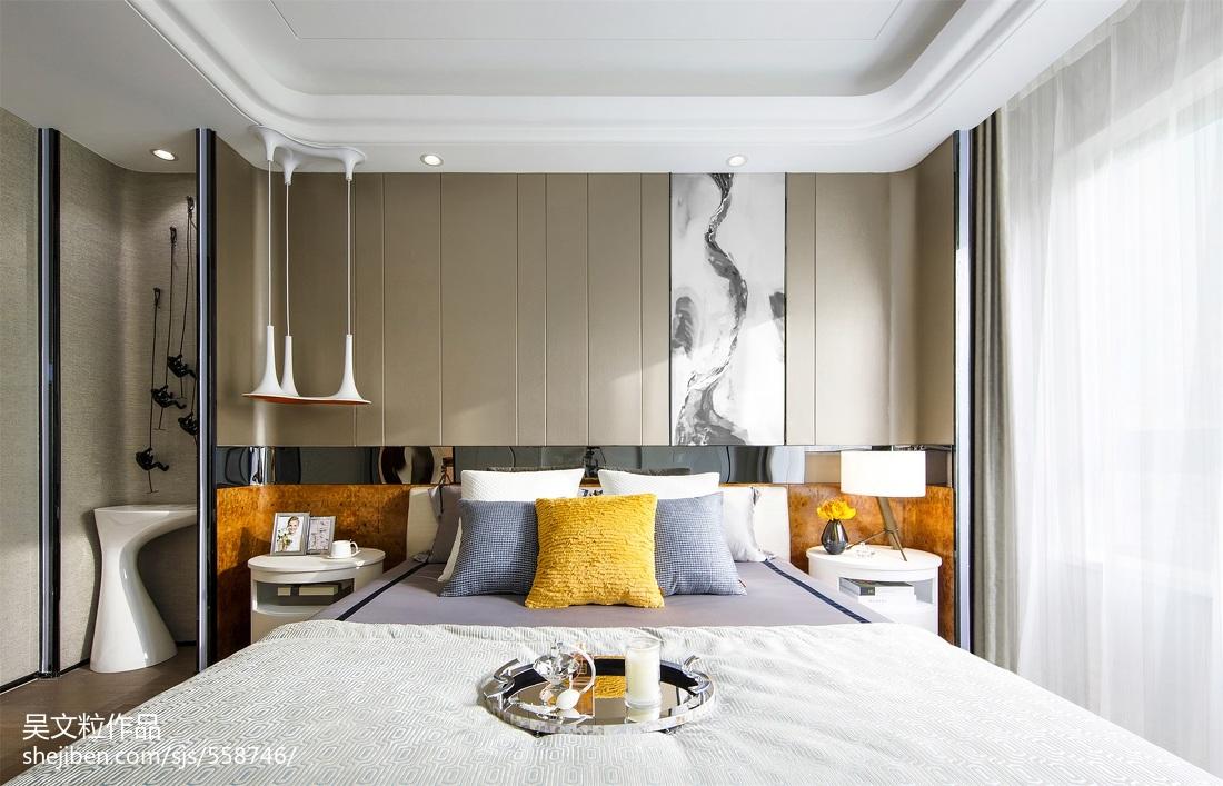 简约风格卧室样板房设计卧室现代简约卧室设计图片赏析