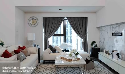 热门134平米现代复式客厅装修欣赏图片