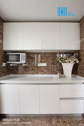 精美简约三居厨房装修效果图片