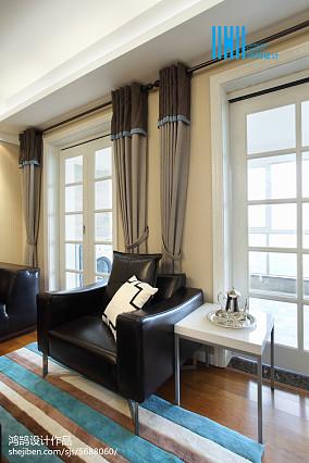精选面积99平简约三居客厅装修图片